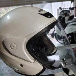 (*^▽^)/★HONDA★ヘルメット★パールホワイト★s…