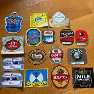 外国ビールラベル