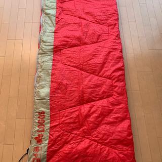 新品 LOGOS  キャンプ 寝袋 大判 丸洗い2層