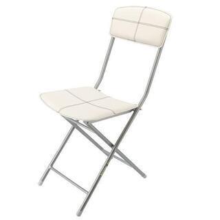 ニトリNITORI 折りたたみ椅子 クロス  チェア