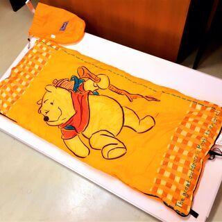 LOGOS 寝袋 くまのプーさんコラボ キッズ用