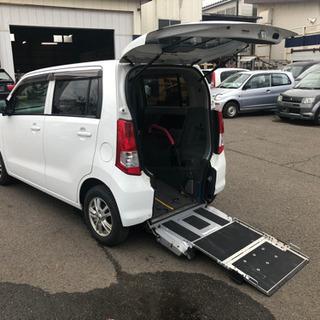 車椅子移動車 平成22年 スズキ ワゴンR 45000㎞ 車検1年付き