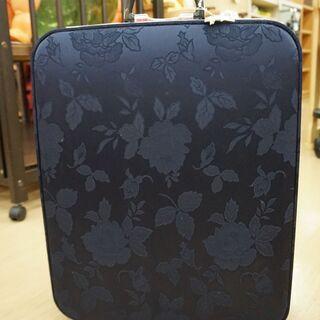 無料!スーツケース☆キャスターなしタイプ☆昔風の鞄☆鍵付き☆中古品