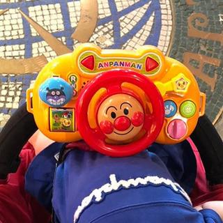 アンパンマン ベビーカーに取り付けるおもちゃ