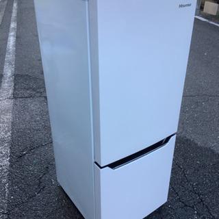 中古 H isense  2ドア冷凍冷蔵庫 150