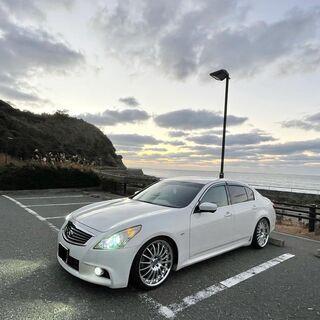 【美車】H23年式日産・スカイライン250GT-TypeS 車検約1年アリ 約178,000㎞ − 福岡県