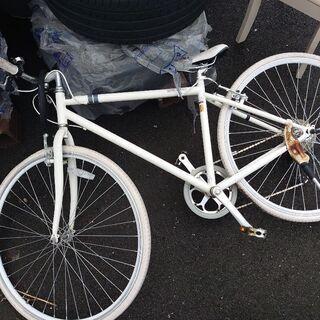 マウンテンバイク ホワイト