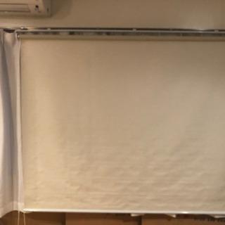 ロールスクリーン オフホワイト