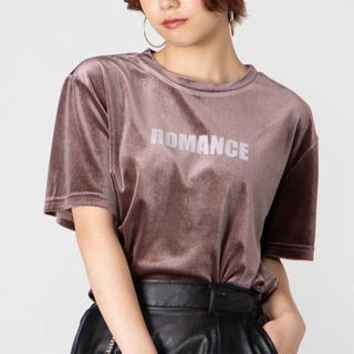 【ネット決済・配送可】新品未使用 WEGO ベロアロゴTシャツ ...