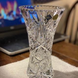 ボヘミアンガラスの花瓶