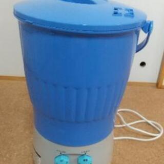 バケツ型ミニ洗濯機