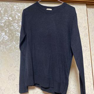 未使用 紺色セーター