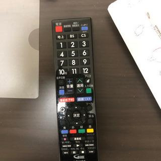シャープのテレビ 小さいですがまだ綺麗です! 3/6or7お引き取りに来て頂ける方 - 家電