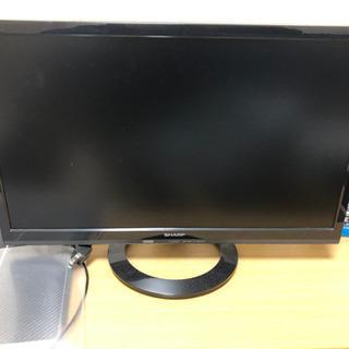 シャープのテレビ 小さいですがまだ綺麗です! 3/6or7お引き取りに来て頂ける方の画像