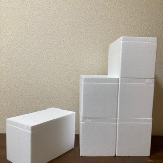【ネット決済】発泡スチロール箱 60サイズ 6個セット