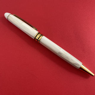 【ネット決済・配送可】パールシェル 螺鈿細工 ボールペン