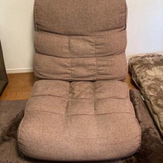 ソファのような座り心地の座椅子 ピグレットシリーズ  /ベージュ...