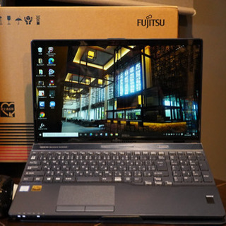 Corei7 メモリ増設 SSD搭載 富士通 FMVA77B3L...