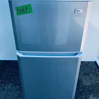 ②1061番 Haier✨冷凍冷蔵庫✨JR-N106K‼️