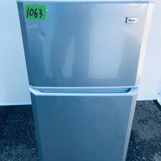 ②1063番 Haier✨冷凍冷蔵庫✨JR-N106E‼️