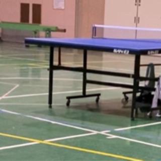 5月12日から、卓球やりませんか?太白小体育館