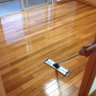 ★フローリングワックス★託麻清掃のワックスは美しい床を長期間キープ!