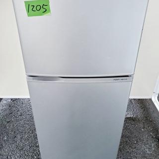 ①1205番AQUA✨ノンフロン直冷式冷凍冷蔵庫✨AQR-111A‼️