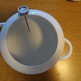 (20日まで値下げ🌟)ホーロー揚げ物鍋🍲ティーカップおまけ…