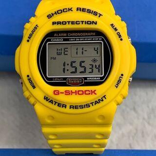 G-SHOCK DW-5700Y-9JF(黄色スティング・美品)...