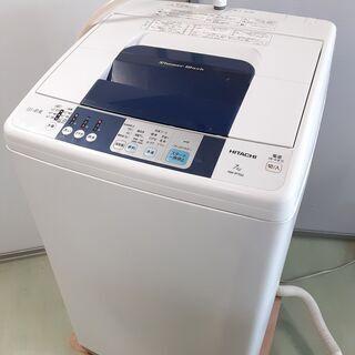 日立 全自動洗濯機 「白い約束」 NW-R702 2015年製 ...