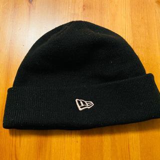 New era ニット帽 黒