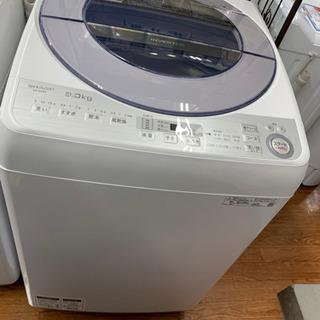2019年製!SHARPの全自動洗濯機です!