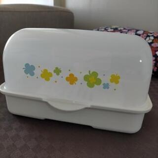 【美品】日本製 哺乳瓶 レンジ消毒器