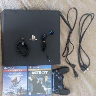 【値下げ】PlayStation 4 Pro 1TB CUH-7...