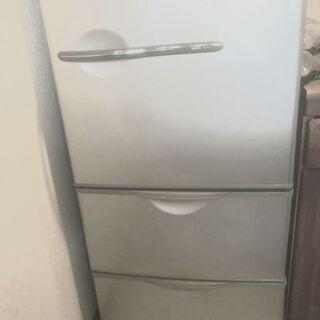 美品  三洋3ドア冷蔵庫( グレー)