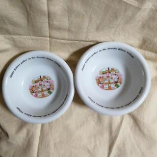 キューピーマヨネーズの懸賞皿2枚