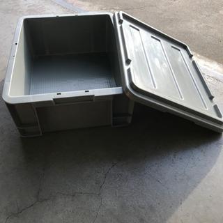 蓋付きプラ箱 収納箱 道具 工具箱