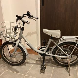 子供用自転車 ブリヂストンbikke 16inch ブルーグレー