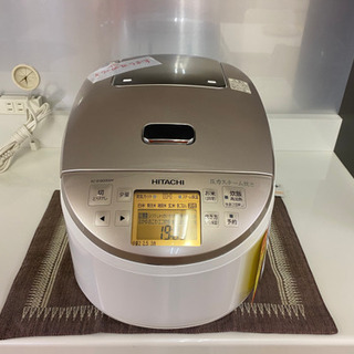 I356 HITACHI一升炊きIH炊飯ジャー ホワイト - 名古屋市