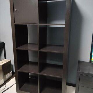 IKEA イケア カラックス(棚 オープンシェルフ) ダークブラウン