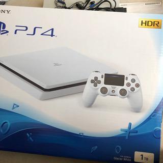 美品 PS4 本体 CUH-2200BB02  1TB ホワイト...