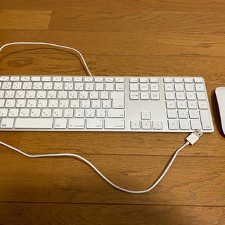 Mac 有線キーボード ワイヤレスマウス