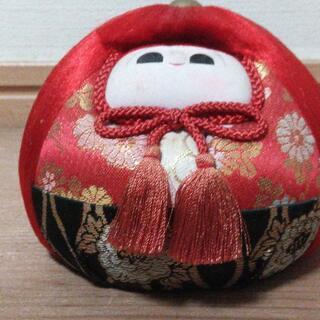 ◆取引条件有り◆【美品】変わり雛1対 桃の節句 ひな人形 男雛・女雛 ひな祭り(布製:各12φx9高cm) − 東京都