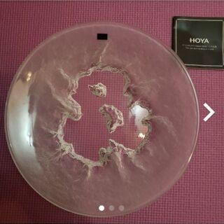 HOYA クリスタルガラス 大皿
