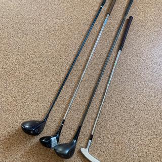 ゴルフ ドライバー サンドウェッジ 4本まとめ売りの画像