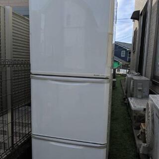 シャープ冷蔵庫314リットルプラズマクラスター2012年式。上扉...