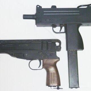 エアガン モデルガン 2丁 イングラムM10 とスコーピオンVz61