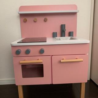 子供用木製キッチン おもちゃ