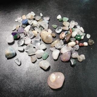 ストーン★宝石たくさん きれいな石 ハンドメイド材料にも♪