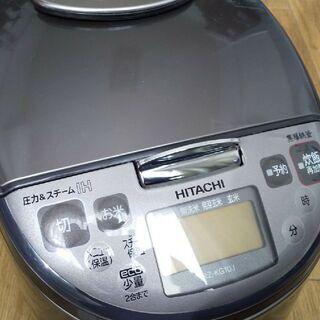 日立 圧力IHジャー炊飯器[5.5合炊き]タイプ(RZ-KG10J)